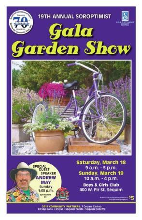 Soroptimist Garden Show Poster
